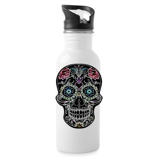 Floral Skull - Water Bottle