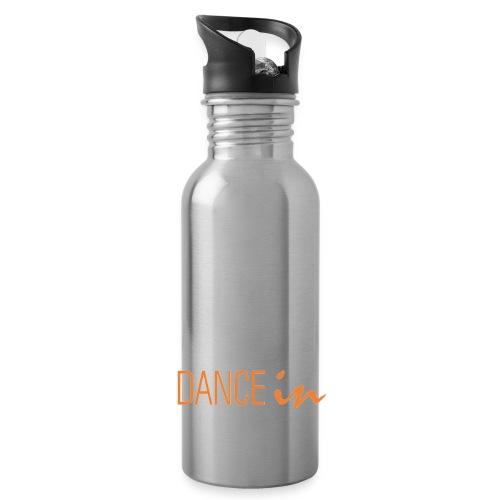 DI Logo transparent png - Trinkflasche mit integriertem Trinkhalm