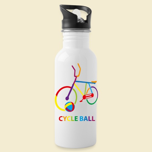 Radball | Cycle Ball Rainbow - Trinkflasche