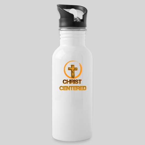 Christ Centered Focus on Jesus - Trinkflasche
