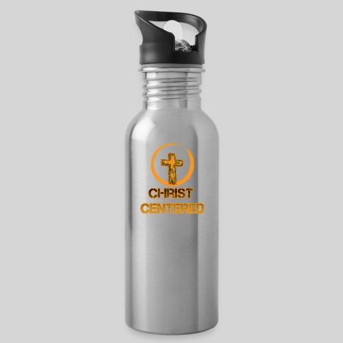Christ Centered Focus on Jesus - Trinkflasche