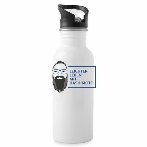 leichter leben mit hashimoto slogan v03 - Trinkflasche