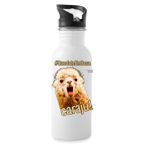 Quedate En Casa Caraju - Water Bottle