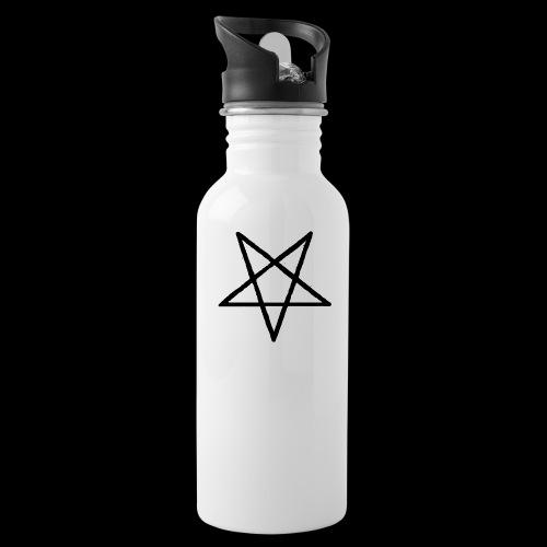 Pentagram2 png - Trinkflasche