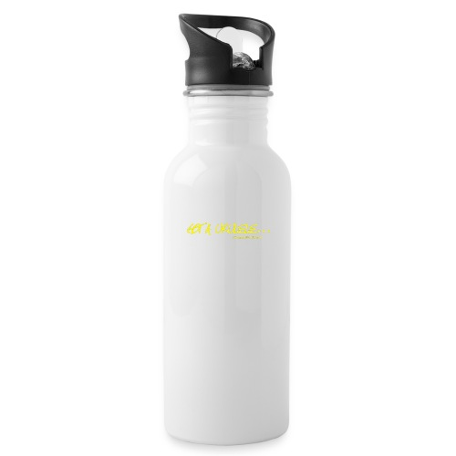 Official Got A Ukulele website t shirt design - Water bottle with straw