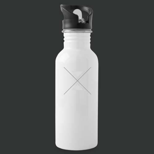 hipster triangles - Water Bottle