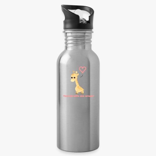 Giraffe Me Crazy - Drikkeflaske