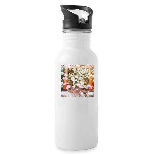 見ぬが花 Imagination is more beautiful than vi - Water Bottle