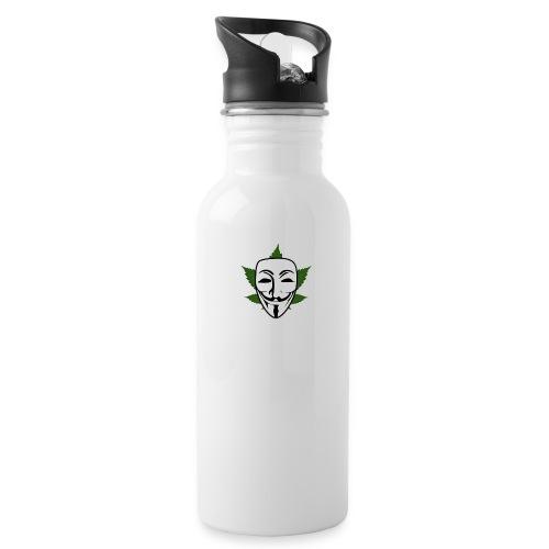 Anonymous - Drinkfles met geïntegreerd rietje