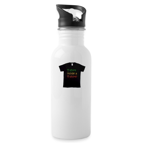 mars-one-drawing-tshirt-black - Drikkeflaske