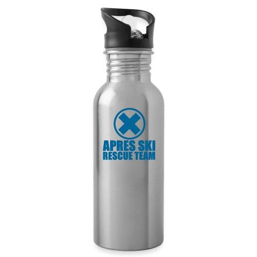 apres-ski rescue team - Drinkfles met geïntegreerd rietje