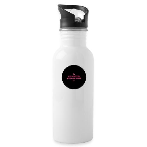 Life is better - Drikkeflaske