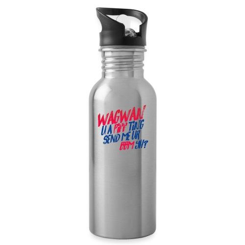 Wagwan PiffTing Send BBM Yh? - Water Bottle