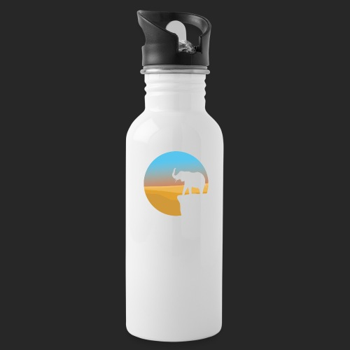 Sunset Elephant - Water Bottle
