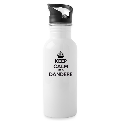 Dandere keep calm - Water Bottle