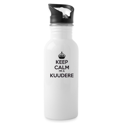 Kuudere keep calm - Water Bottle