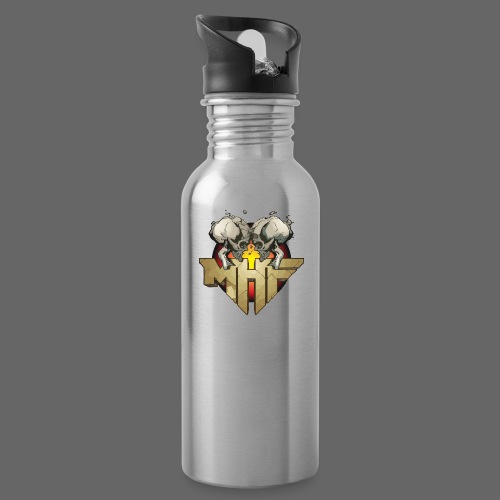 new mhf logo - Water Bottle