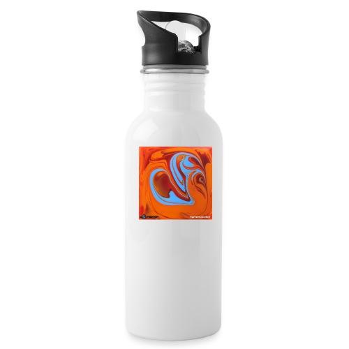 TIAN GREEN Mosaik DK005 - Herzenswelten - Trinkflasche