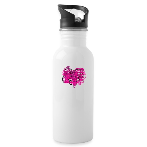 delicious pink - Water Bottle
