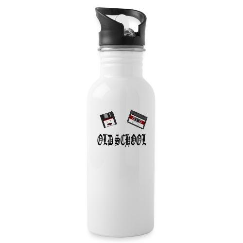 Old School Design - Trinkflasche