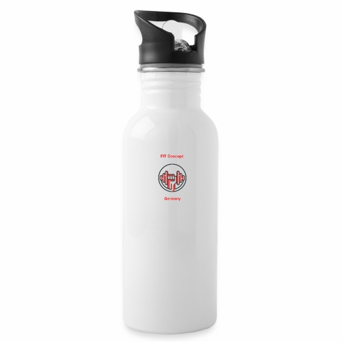 FIT Concept Germany Logo+Beschriftung - Trinkflasche