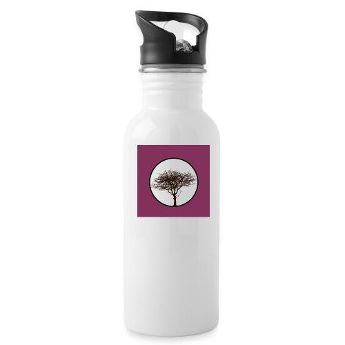 Baum in Kreis - Trinkflasche