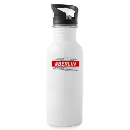 Hashtag Berlin - Trinkflasche
