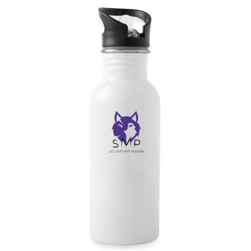 SMP Wolves Merchandise - Trinkflasche mit integriertem Trinkhalm