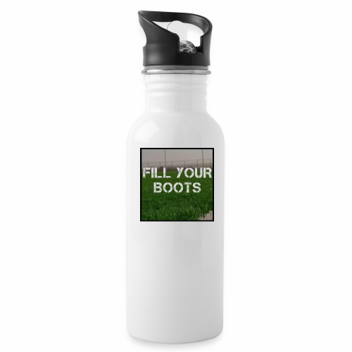 Fill Your Boots Logo - Water Bottle