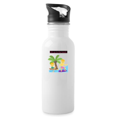 beach - Vattenflaska