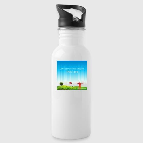Rolling hills tshirt - Drikkeflaske