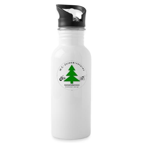MCJul - Drikkeflaske med integreret sugerør