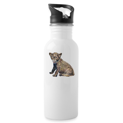 Lil Lion - Water bottle with straw
