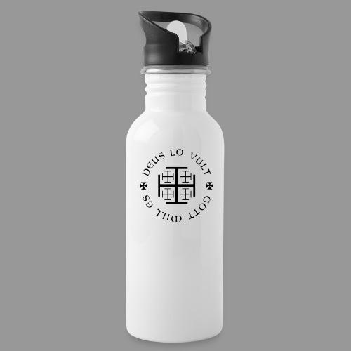 deus lo vult - Gott will es - Trinkflasche