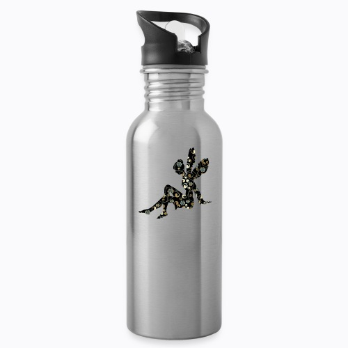 fairy abstract - Water bottle with straw