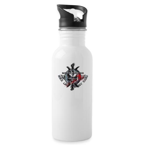 Blood Skull Logo - Vattenflaska