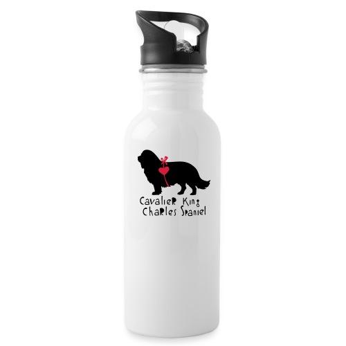 Cavalier Silhouette - Trinkflasche