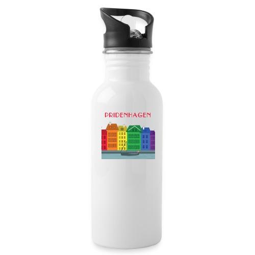 PRIDENHAGEN NYHAVN T-SHIRT - Drikkeflaske med integreret sugerør
