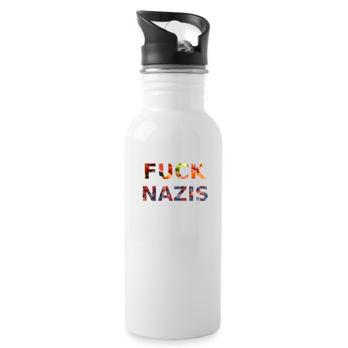 Fuck Nazis with Fruits - Trinkflasche