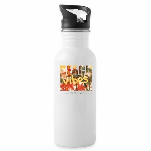 beach vibes street style - Trinkflasche