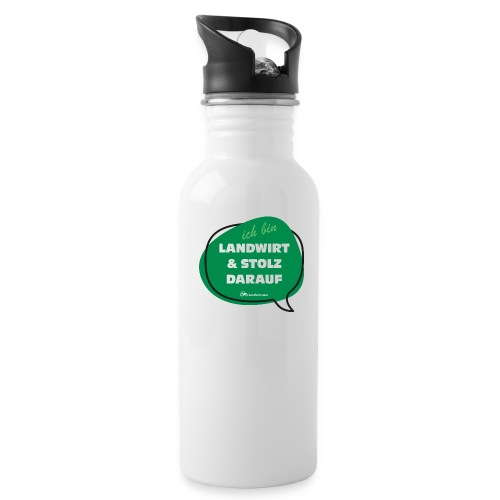 Landwirt und stolz darauf - Trinkflasche