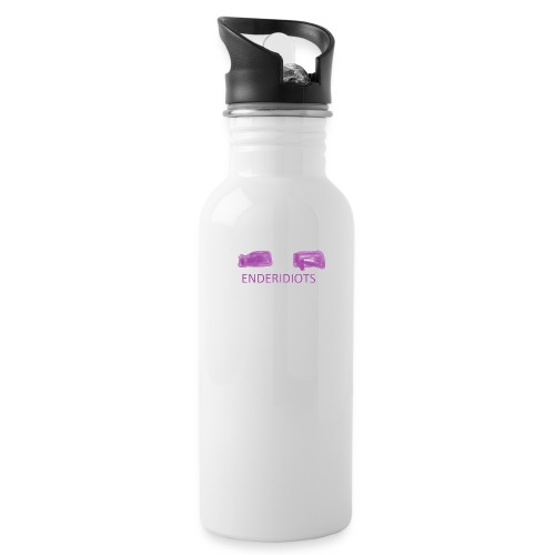 enderproductions enderidiots design - Water Bottle