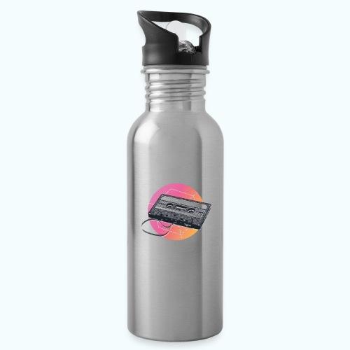 80s Vintage Cassette - Water Bottle