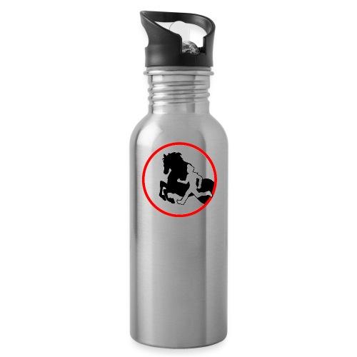 Horse Agility Logo - Trinkflasche