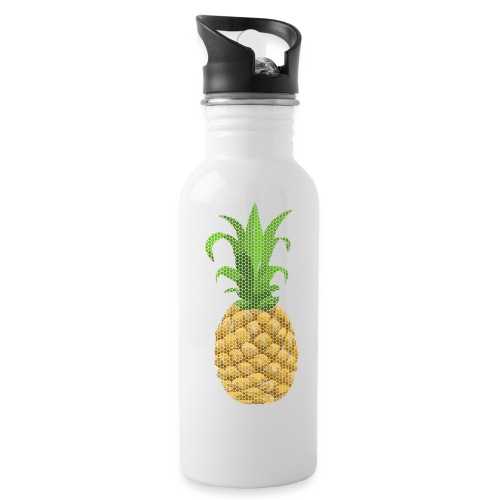 Dots Ananas - Trinkflasche