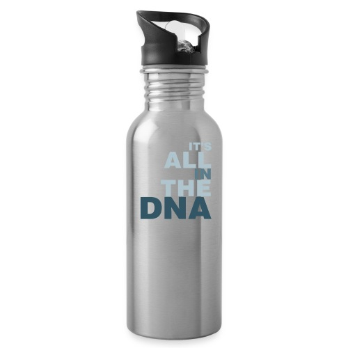 all_in_the_dna - Water Bottle