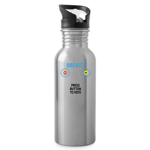 Brexit: Press Button To Vote - Drikkeflaske