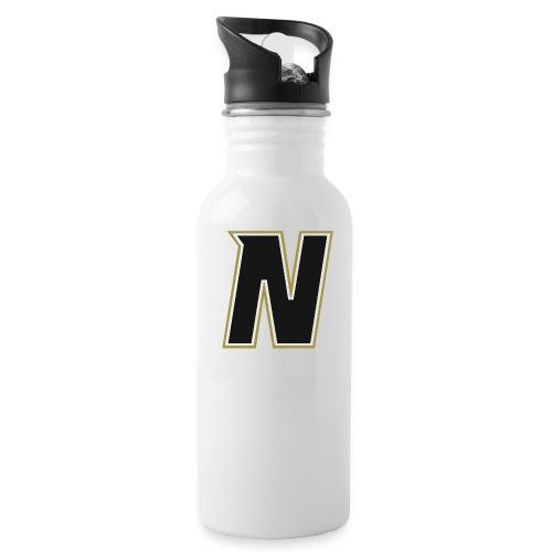 Nordic Steel Black N - Water Bottle