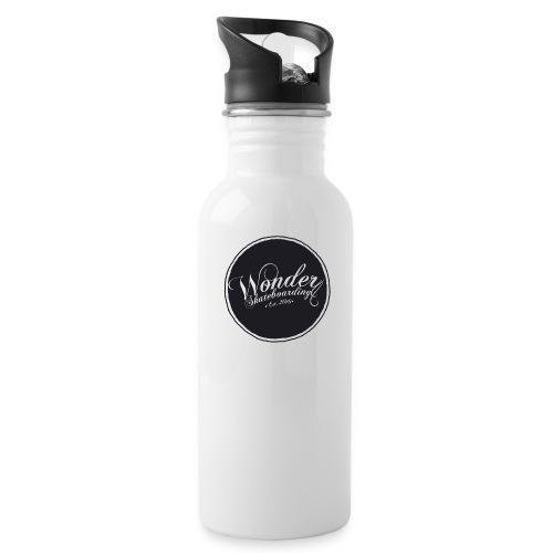 Wonder T-shirt - oldschool logo - Drikkeflaske med integreret sugerør