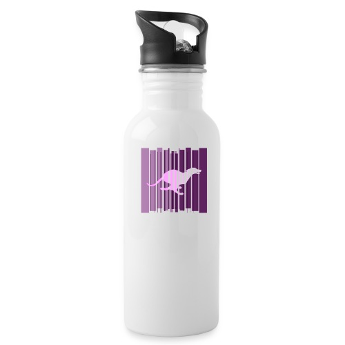 Sighthound In Purple Women's T - Water Bottle